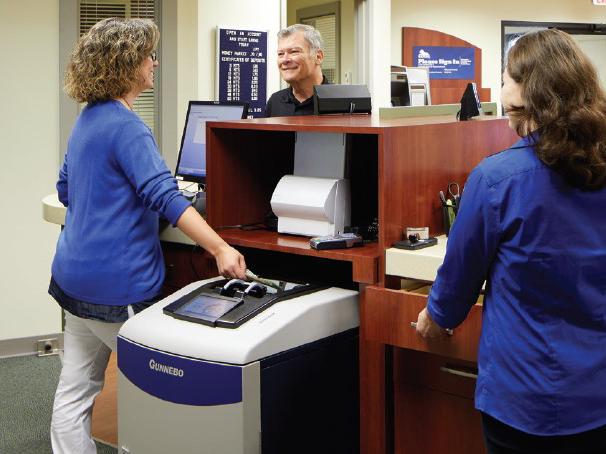 Credit union bank cash handling