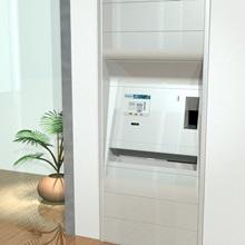 coin roll dispensers. retail bank cash handling