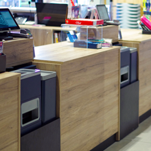 Soluciones de cobro en punto de venta para retailers