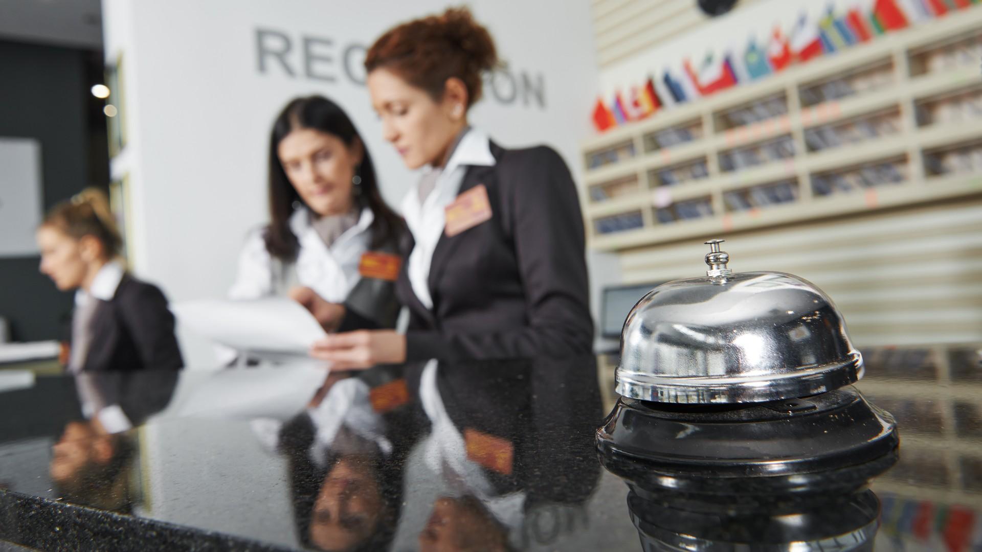 cash handling per gli hotels