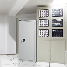 High-security server cabinets