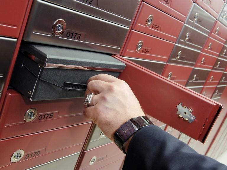 Mekaniska bankfack