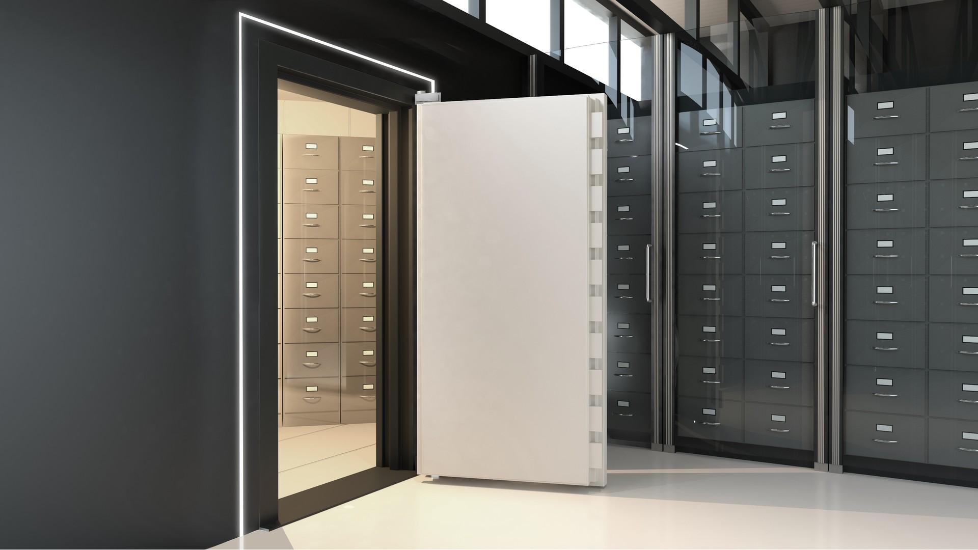 Portas de cofre