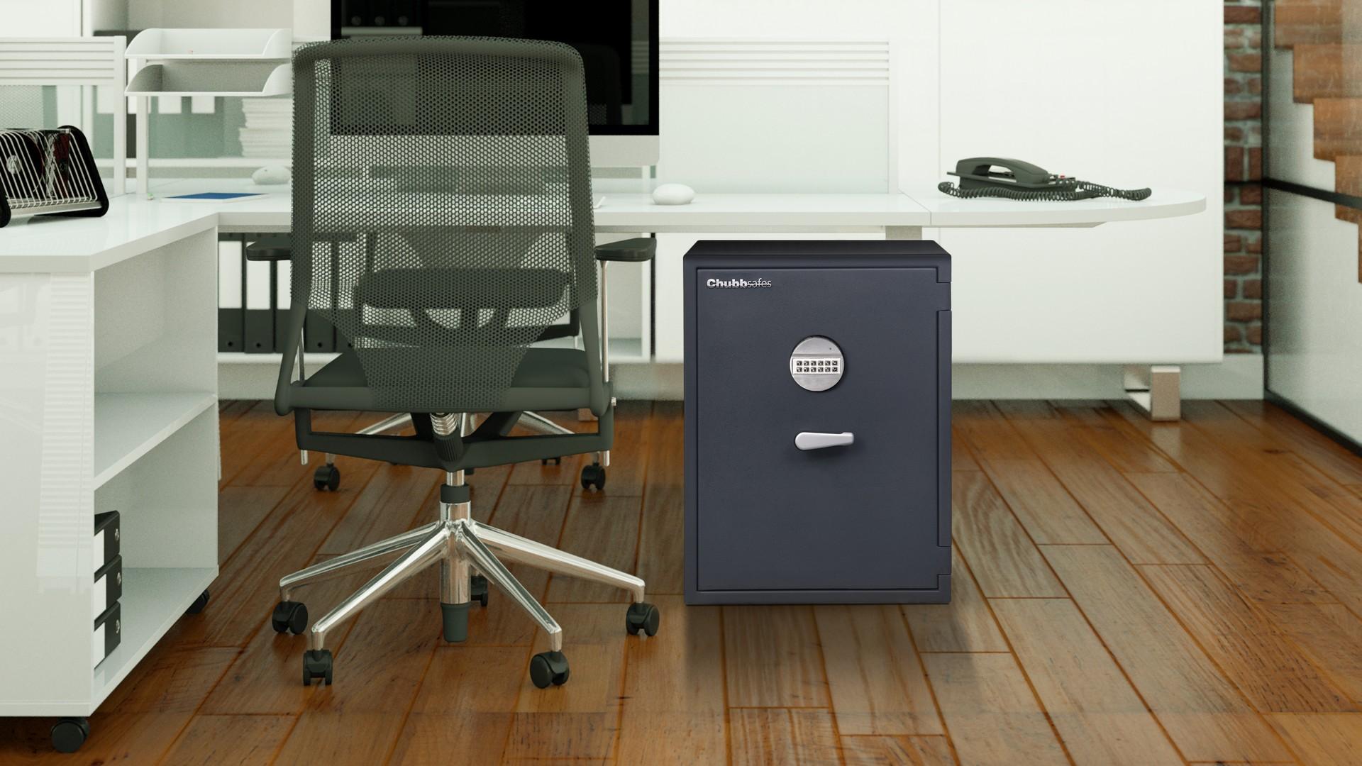 Graded safes - Senator-InSitu - Office with wood floor