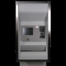 Bank cash handling. Coin roll dispensers