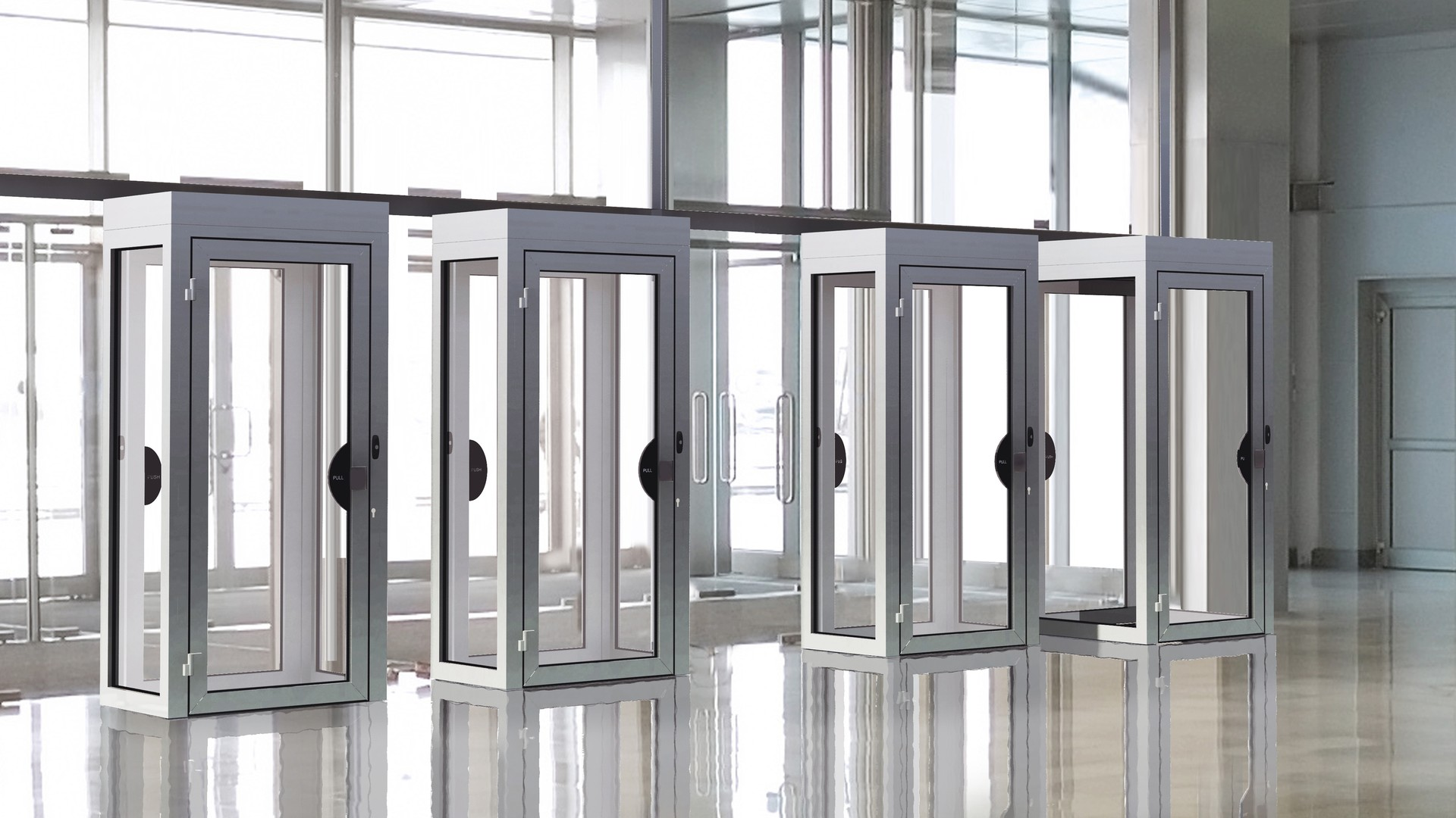 Security doors and partitions 16-9