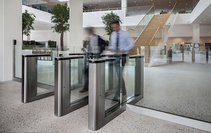 indgangssikkerhed gunnebo danmark. entrance control